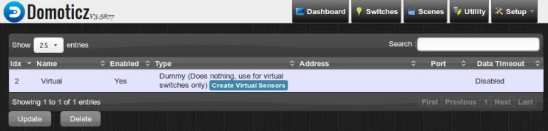 Temperature Sensors on a Raspberry Pi hosting Domoticz
