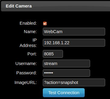 Secure Webcam streaming with MJPG-Streamer on a Raspberry Pi